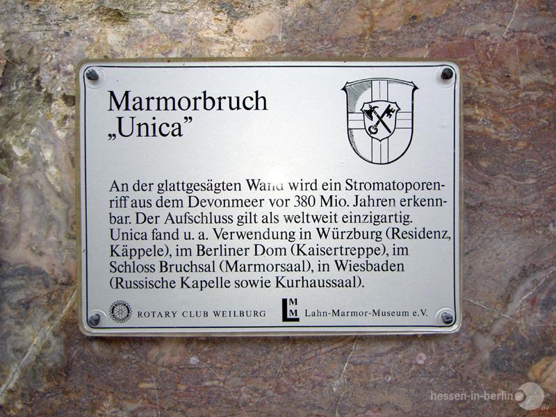hessen-in-berlin.de | Roter Marmor in Villmar