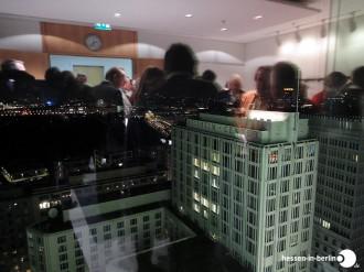 Gebahnter Blick auf Berlin